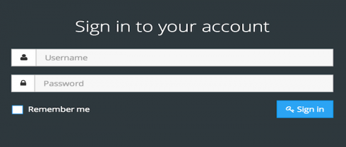 account sign-in